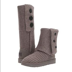 UGG sweater boots size 8